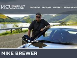 Mike Brewer dal sito Wheeler Dealers di Discovery Uk