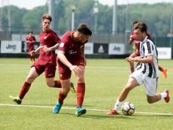Una fase del match tra Juve e Roma. LaPresse