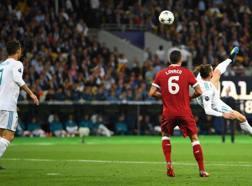 La stupenda rovesciata di Bale. Ansa