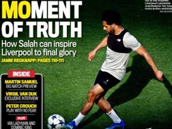 L'apertura del Daily Mail