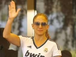 Jennifer Lopez, grande tifosa dei Blancos