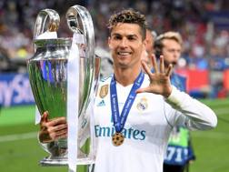 Cristiano Ronaldo, 33 anni, attaccante del Real. Getty