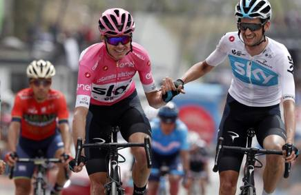 Chris Froome, 33 anni. Bettini