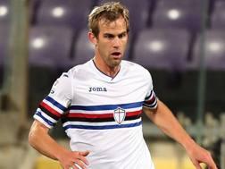 Ivan Strinic in maglia Samp. Getty