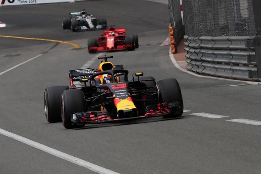 I tre contendenti del titolo piloti di Formula 1 2018. Chi la spunterà? Foto: LaPresse.
