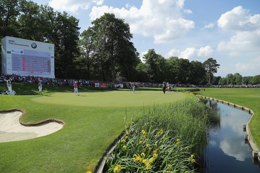 Una veduta del green del Wentworth Club di Virginia Water (Getty Images)