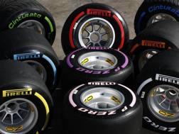 Le Pirelli per la Formula1.