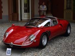 Una delle reginette di Villa d'Este 2018, l'Alfa Romeo Staradale 33/2 Stradale