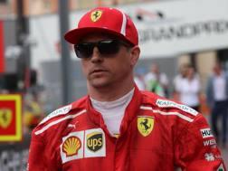 Kimi Raikkonen, 38 anni. Lapresse