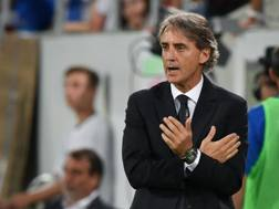 Roberto Mancini, neo c.t. dell'Italia. Afp