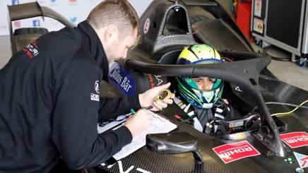 Felipe Massa sulla Venturi Formula E