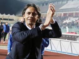 Il tecnico del Venezia Filippo Inzaghi, 44 anni. LaPresse