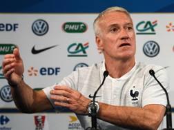 Didier Deschamps, 49 anni. Afp