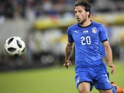 L'attaccante del Bologna Simone Verdi, 25 anni. Ap