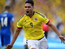 Il centravanti della Colombia e del Monaco Radamel Falcao, 32 anni. Afp