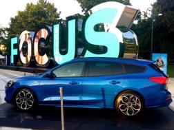 La Ford Focus in esposizione a Milano