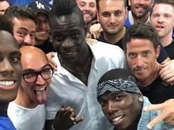 Balotelli e Pogba. Instagram