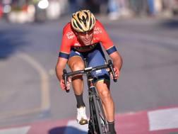 Vincenzo Nibali sul Poggio lanciato alla conquista della Milano-Sanremo (Bettini)