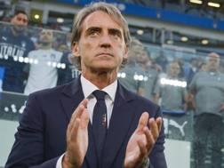 Roberto Mancini all'Allianz Stadium, LaPresse