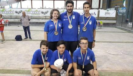 I campioni d'Italia della Caragliese