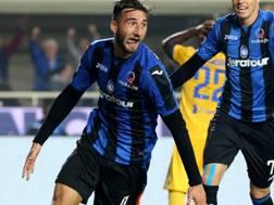 Il centrocampista dell'Atalanta e della Nazionale Bryan Cristante, 23 anni. LaPresse