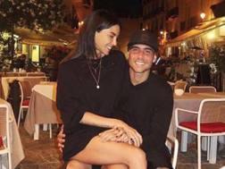 Simone Zaza e l'ex Chiara Biasi. Instagram
