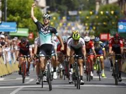 Il tedesco Pascal Ackermann vince la seconda tappa del Delfinato (Bettini)