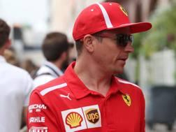 Kimi Raikkonen, iridato Ferrari nel 2007. Lapresse