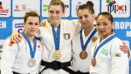 Francesca Giorda sul podio più alto dei 48 kg
