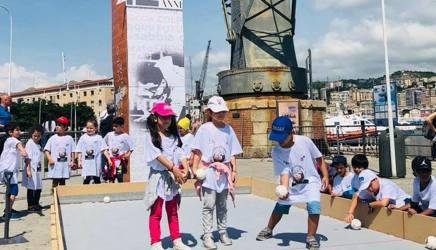 Il futuro delle bocce nella festa per i 120 anni al Porto di Genova