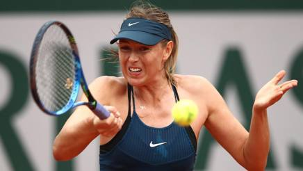Maria Sharapova, 31 anni, testa di serie numero 28, sconfitta ai quarti dalla spagnola Muguruza AFP