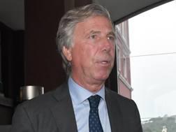 Enrico Preziosi, presidente del Genoa. LaPresse