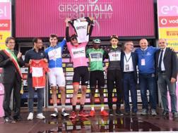 Il russo Pavel Sivakov, 20 anni, ora professionistca con Chris Froome al Team Sky, vincitore del Giro Under 23 nel 2017