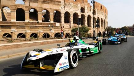 Le Formula E in parata a Roma