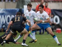 Una fase di Italia-Argentina