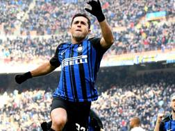 L'attaccante dell'Inter Eder, 31 anni. Getty