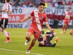L'attaccante Nico Gonzalez, 20 anni, di proprietà dell'Argentinos Juniors