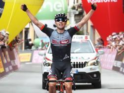 L'austriaco Markus Wildauer (Tirol Cycling Team), 19 anni. Isolapress