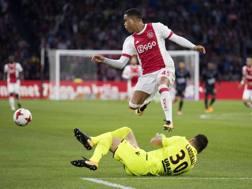 Justin Kluivert con l'Ajax. Ansa