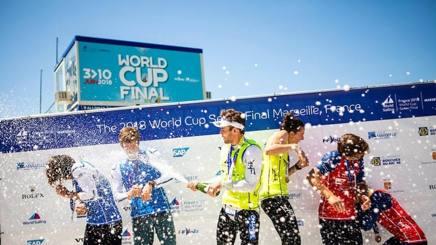 Podio azzurro in Coppa del Mondo a Marsiglia