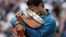 Rafa Nadal a Parigi ha troinfato dal 2005 al 2008 e poi dal 2010 al 2014 ed ora nel 2017 e 2018. Epa