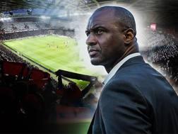 Il nuovo tecnico del Nizza Patrick Vieira