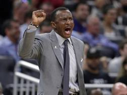 Dwane Casey, 61 anni, nuovo coach di Detroit. Ap