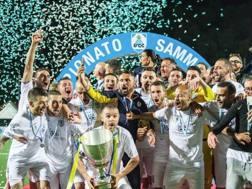 La Fiorita: festa scudetto 2017-2018. Dal sito del club