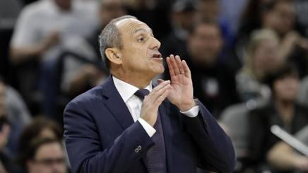 L'allenatore Ettore Messina. AP