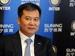 Zhang Jindong, proprietario dell'Inter. Getty