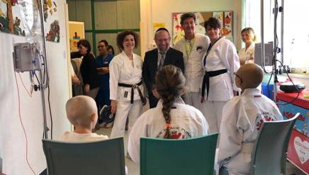 L'incontro tra Rabbi G. e alcuni pazienti dell'Ospedale Infantile Regina Margherita di Torino