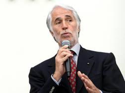 Il presidente del Coni Giovanni Malagò. Ansa