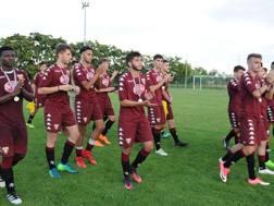 I giocatori del Torino. LaPresse