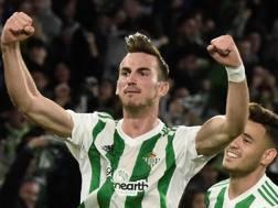 Fabian Ruiz, 22 anni, centrocampista del Betis. Epa